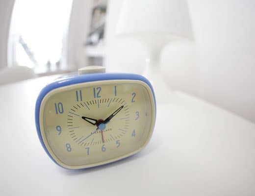 Kikkerland Retro Alarm Clock Cool Cheap Gift Idea