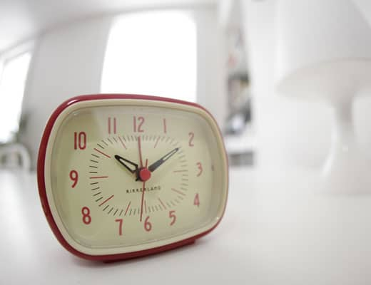 Kikkerland Retro Alarm Clock Old Fashioned Novelty Item