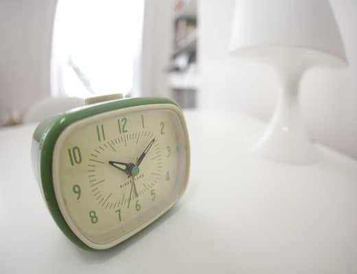 Kikkerland Retro Alarm Clock Old School Design