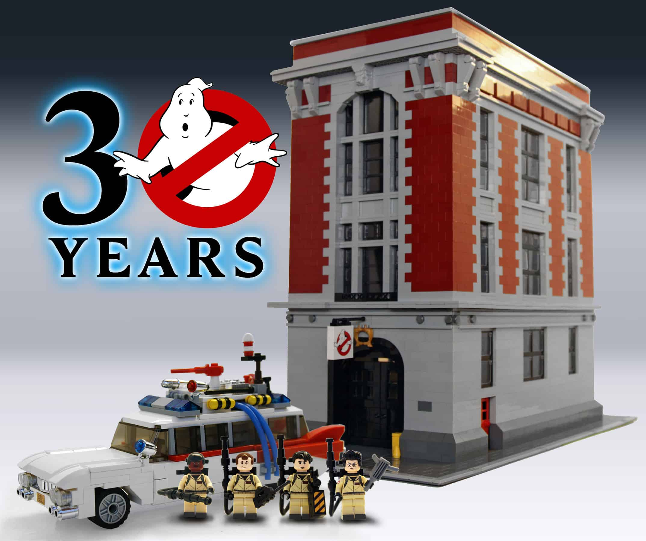 Lego Ghostbusters Ecto-1 30 Years Set Cool Gift Idea