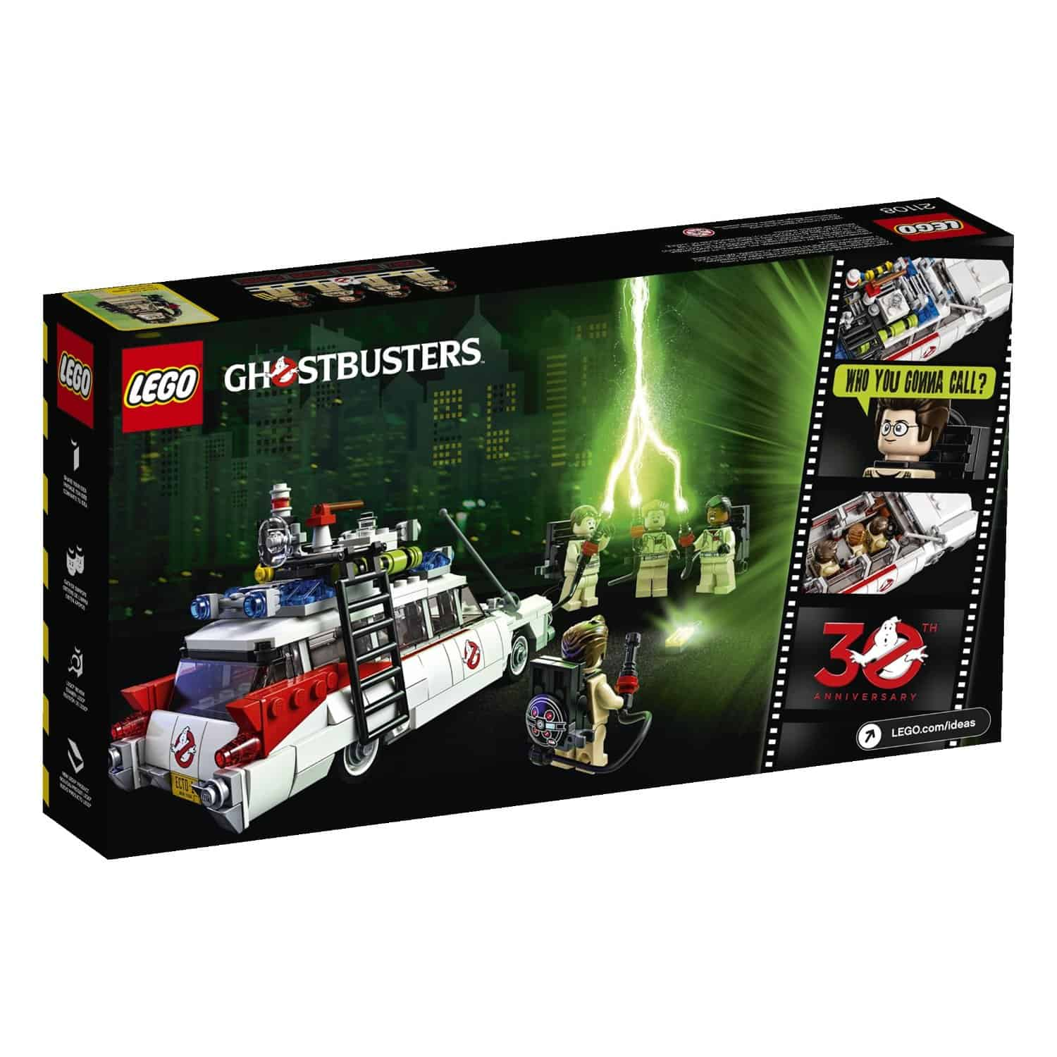 Lego Ghostbusters Ecto-1 Movie Box design