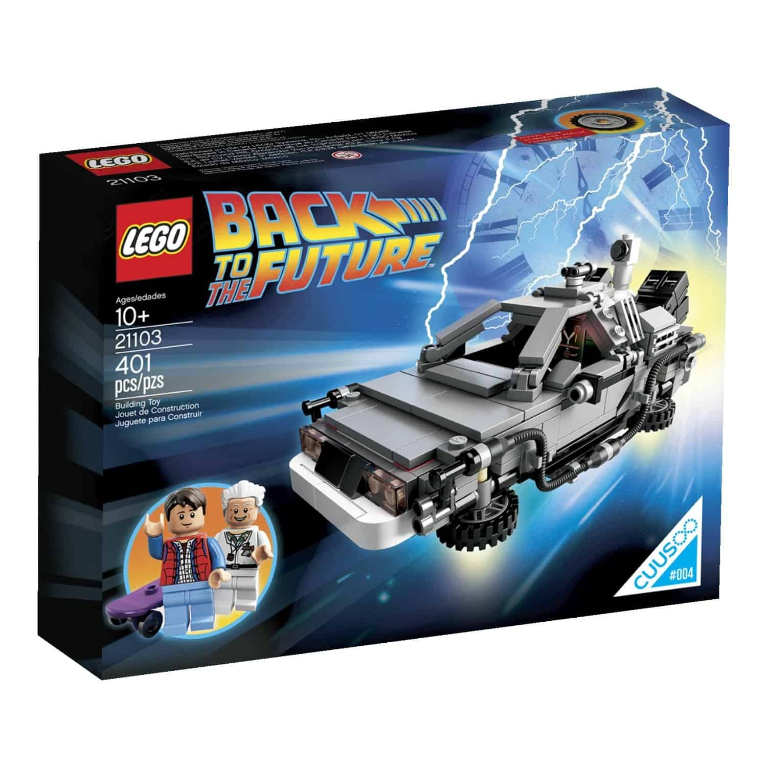 Lego The DeLorean Time Machine Set Christmas Gift Idea for Kids