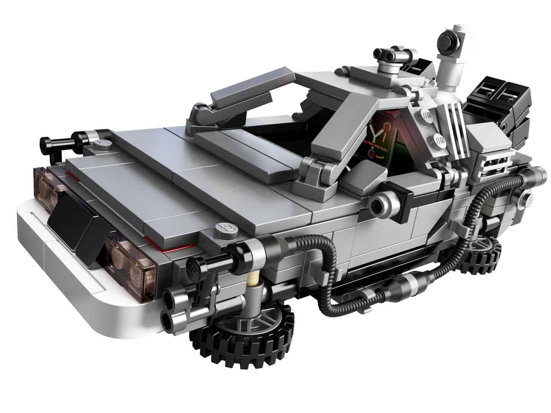 Lego The DeLorean Time Machine Set Retro Fan Gift Idea