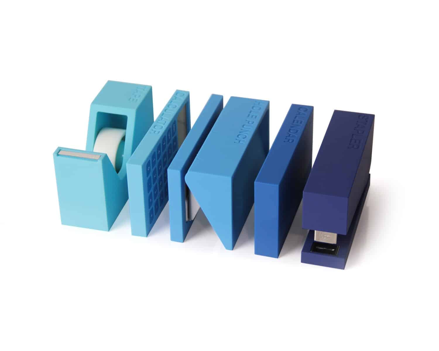 Lexon buro desk accessories set noveltystreet - Unique office desk accessories ...
