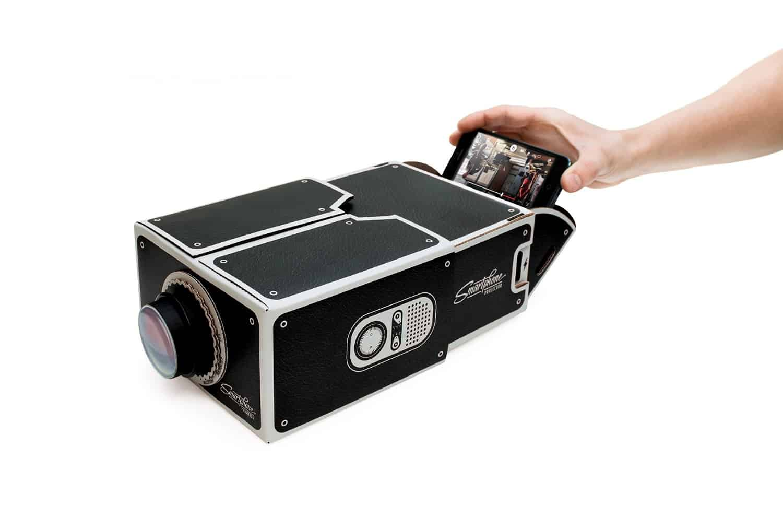 Luckies Smartphone Projector Cool DIY iPhone Projector
