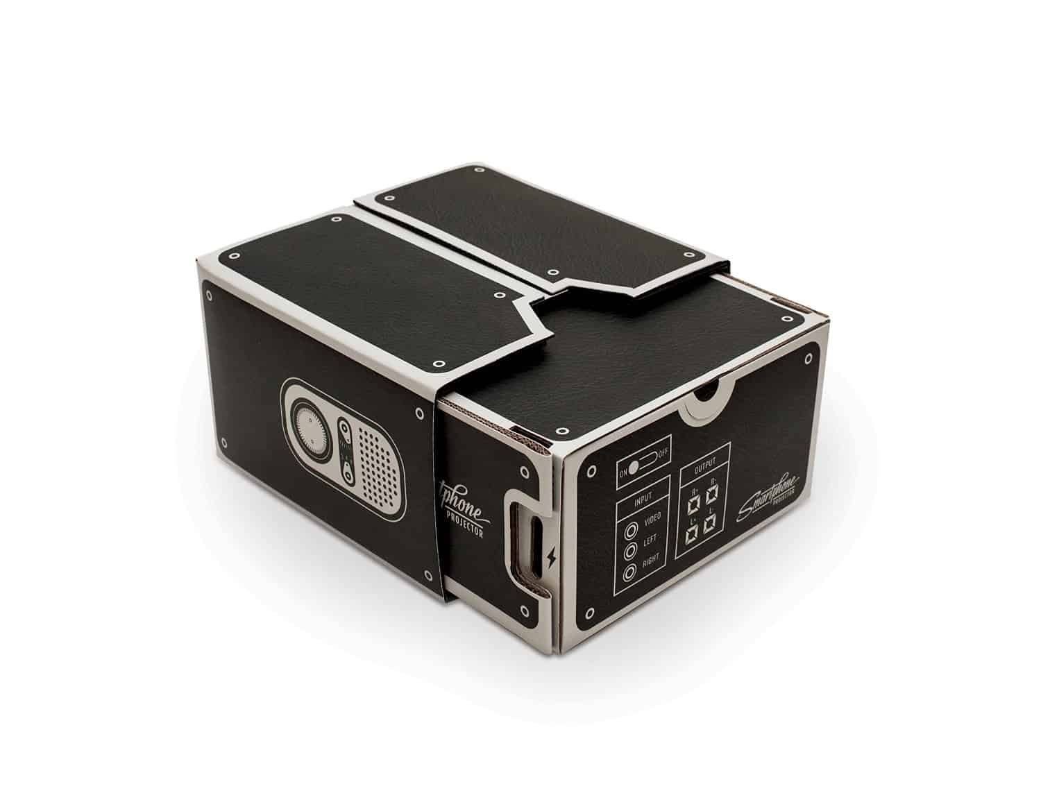 Luckies Smartphone Projector Movable Parts for Image Focus