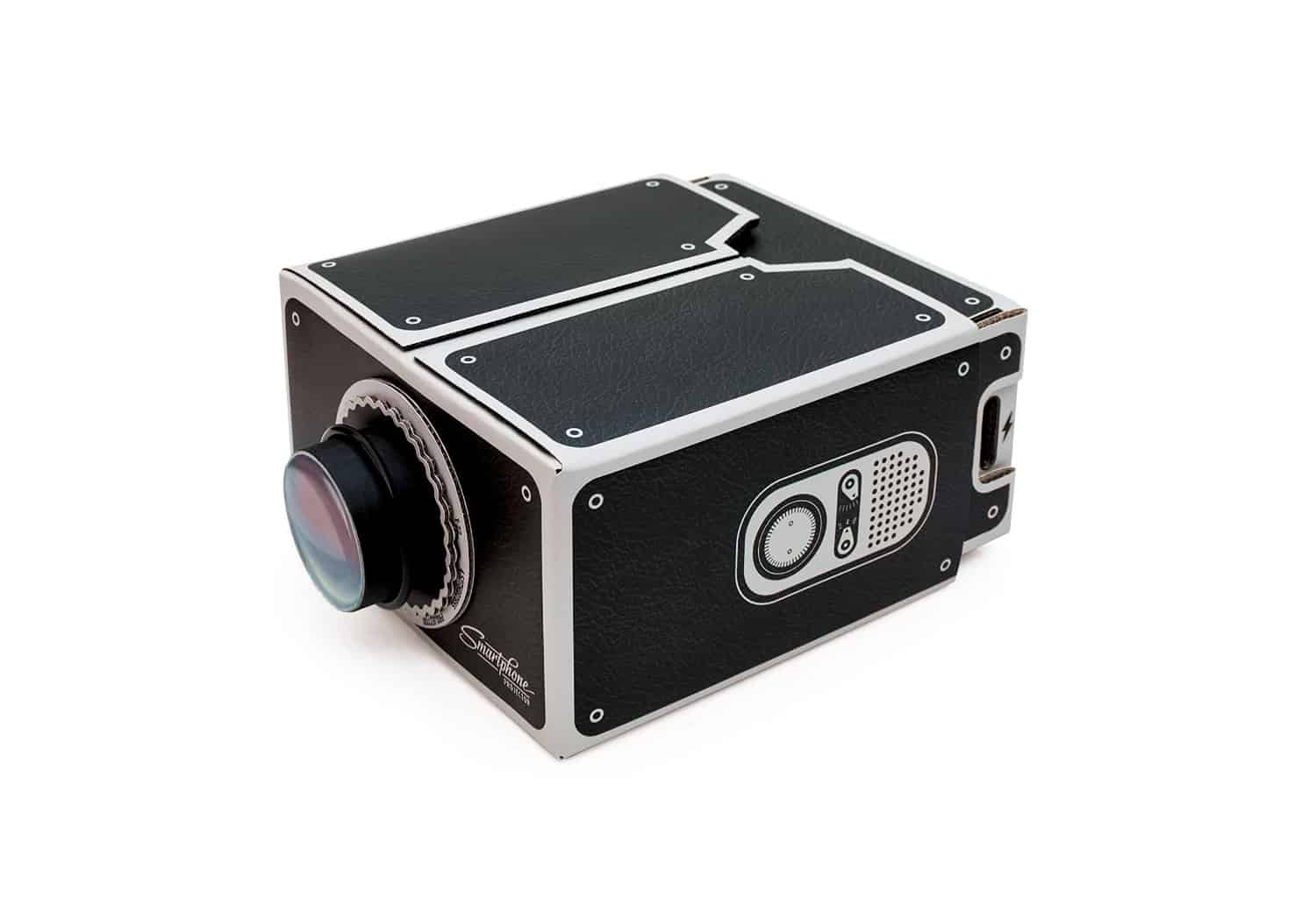 Luckies Smartphone Projector Retro Style DIY Project