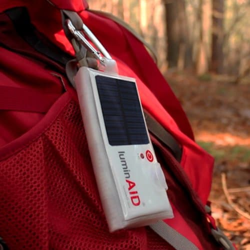 LuminAID Solar Inflatable Light Mobile and Flat Light Source