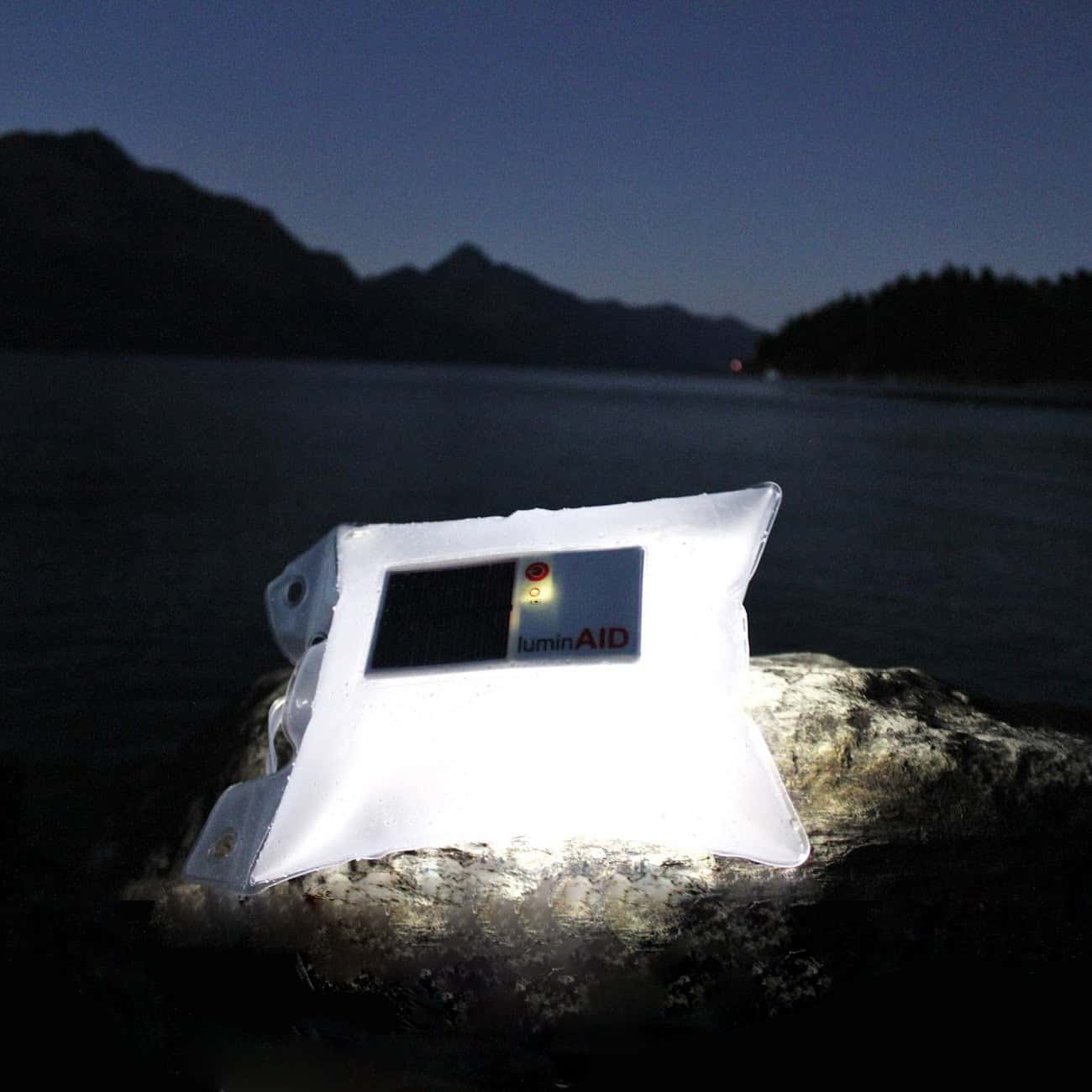 LuminAID Solar Inflatable Light Perfect for Night Time Outdoor Activities