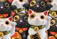Maneki Neko Japanese Lucky Cat Successful Business Feng Shui