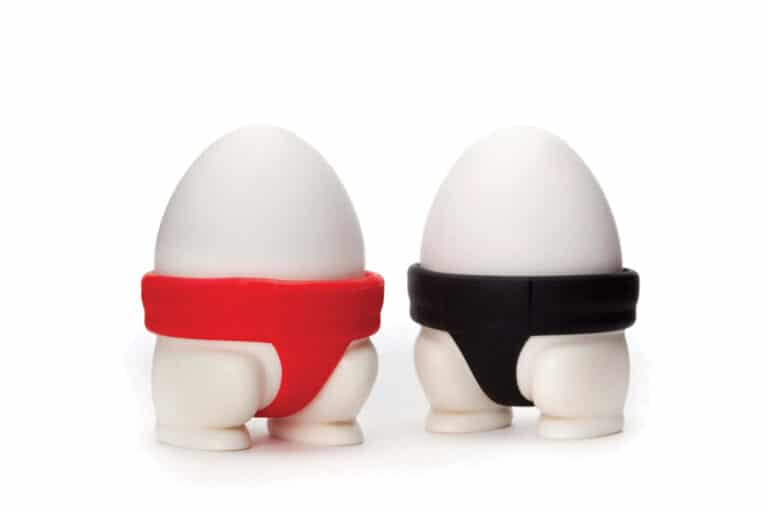 Peleg Design Sumo Egg Cups Funny Kitchen Gadgets