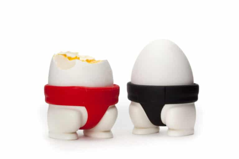 Peleg Design Sumo Egg Cups Novelty Kitchen Gadgets