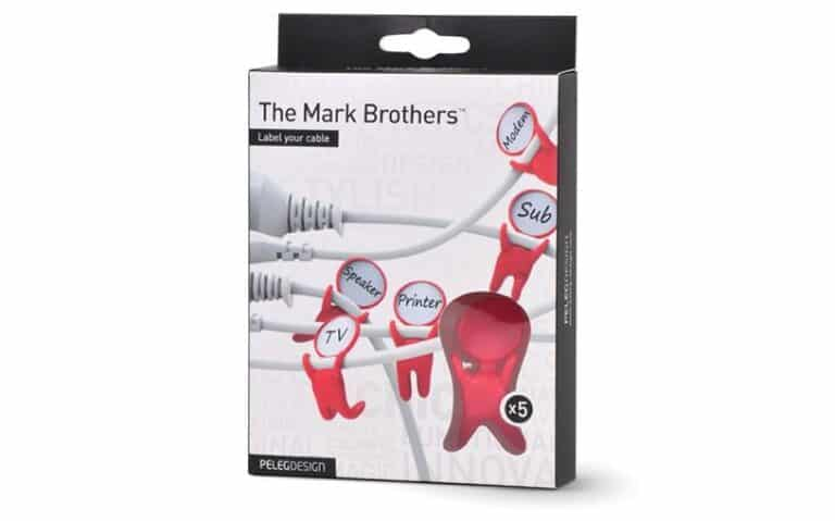 Peleg Mark Brothers Cable Labels Label Your Cable Box