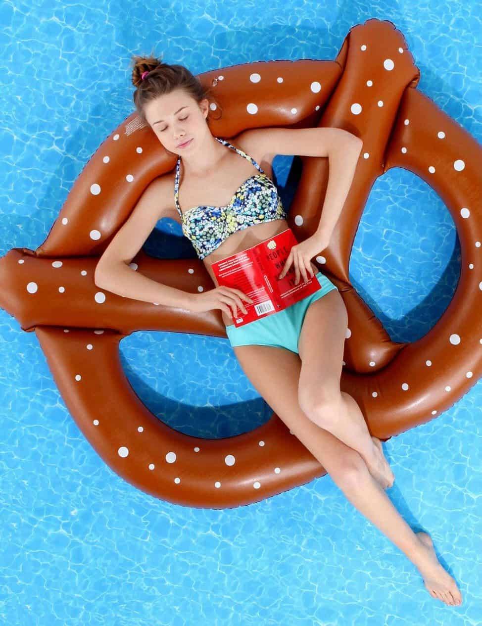 Pretzel Pool Float Cool Stuff to Buy on Summer