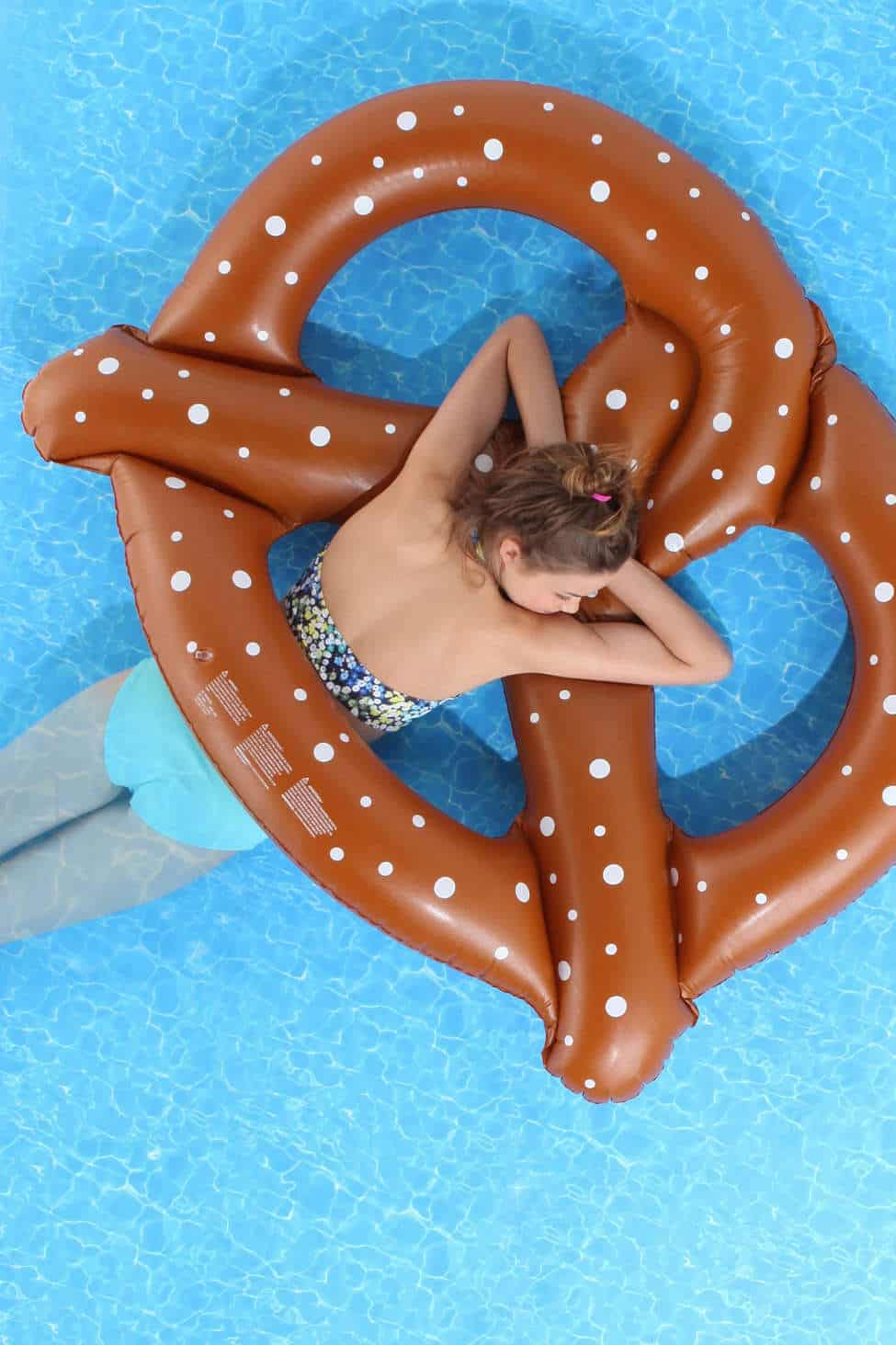 Pretzel Pool Float Summer Party Must Have Giant Inflatable Pretzy