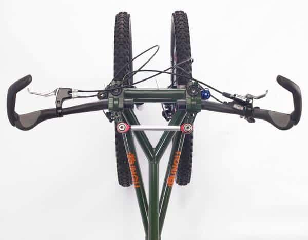 Rungu Juggernaut Trike Bike with 2 Front Wheels