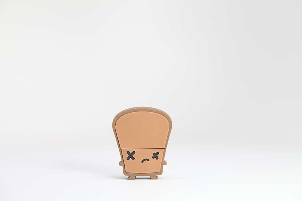 Smoko Toast USB Flash Drive 8GB Crisp Burnt Bread