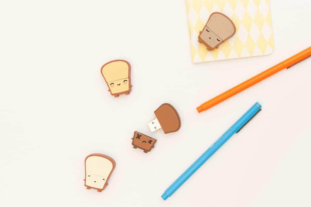 Smoko Toast USB Flash Drive 8GB Thumbdrive Cute Novelty