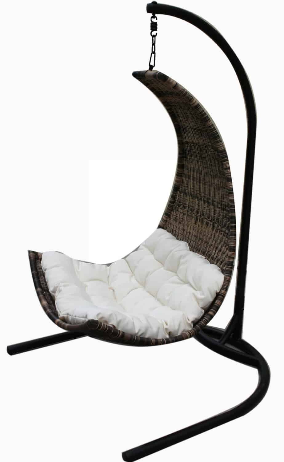 Thais Balance Curve Porch Swing Chair Hanging Outdoor Furniture