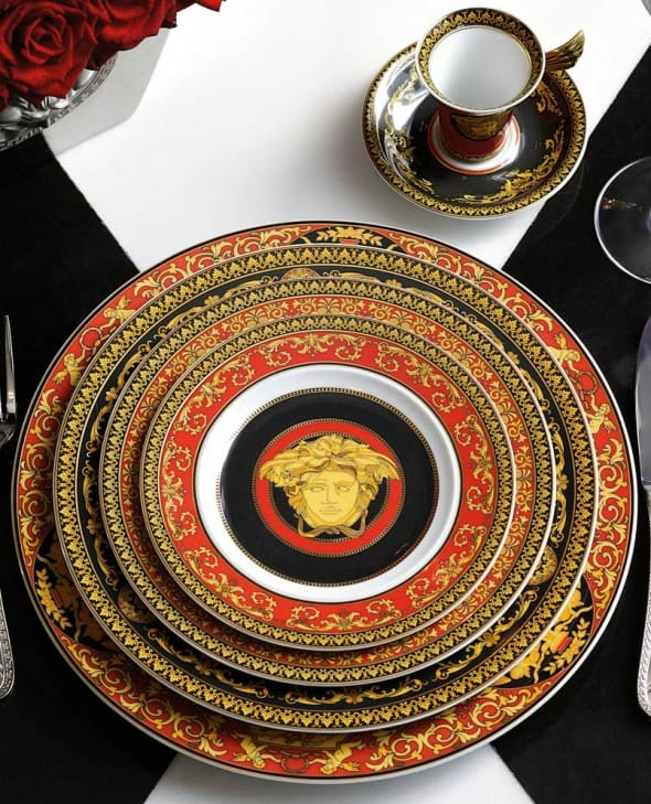 Versace by Rosenthal Medusa Red Plate Collection Limited Edition