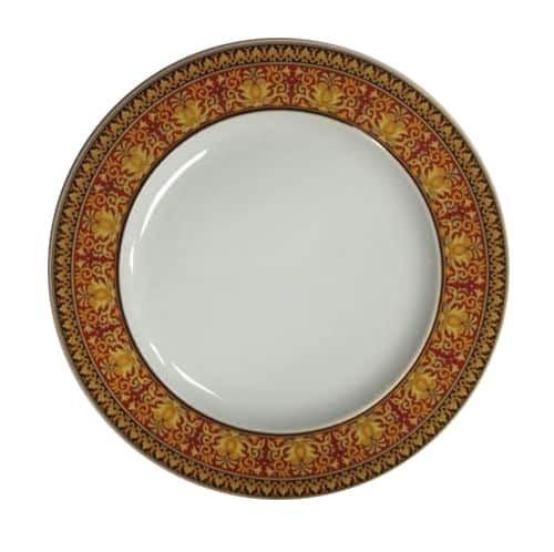 Versace by Rosenthal Medusa Red Plate Collection Salad Plate
