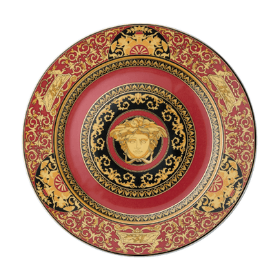 Versace by Rosenthal Medusa Red Plate Collection Service Plate