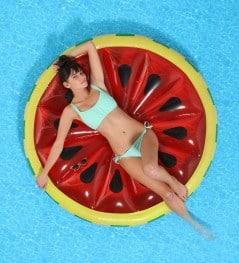 A slice of juicy watermelon fling.