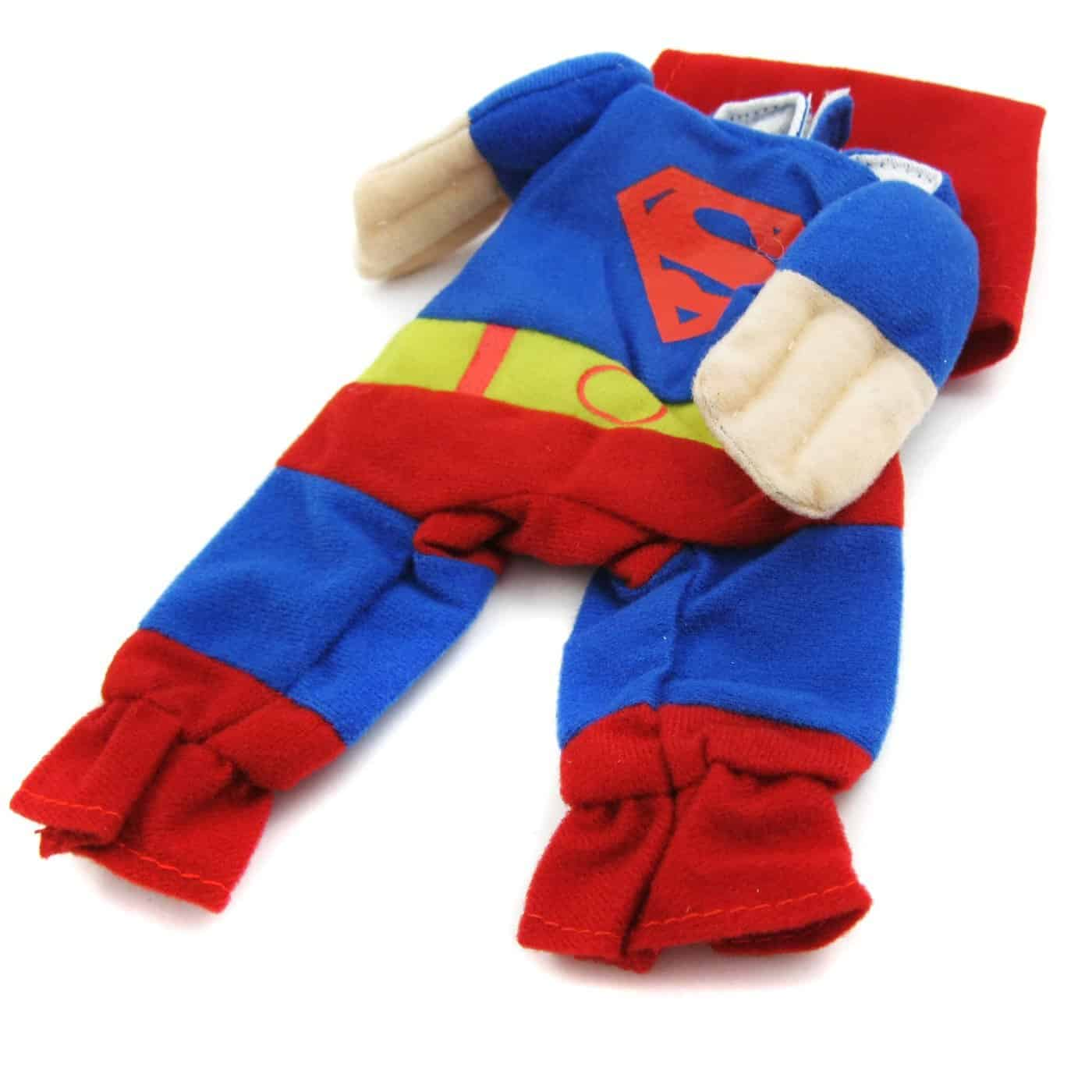 Alfie Pet Superhero Costume Superman for Pet Dogs