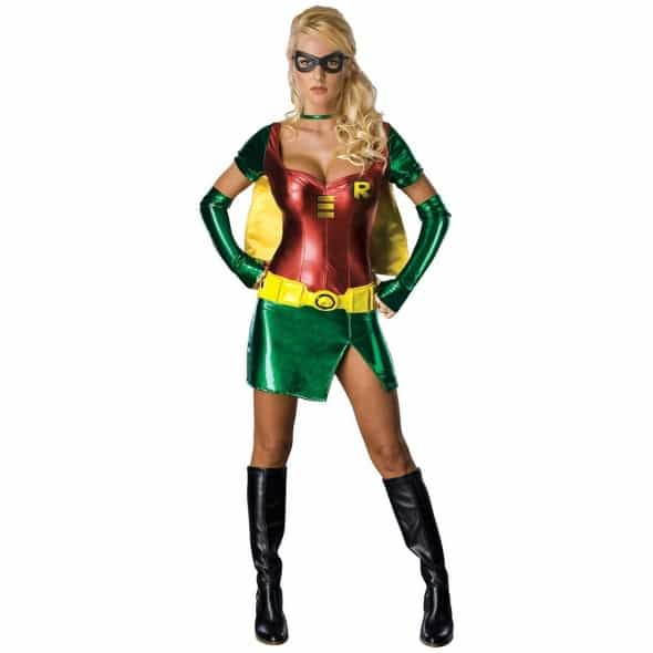 Batman Secret Wishes Robin Costume Sexy Cosplay