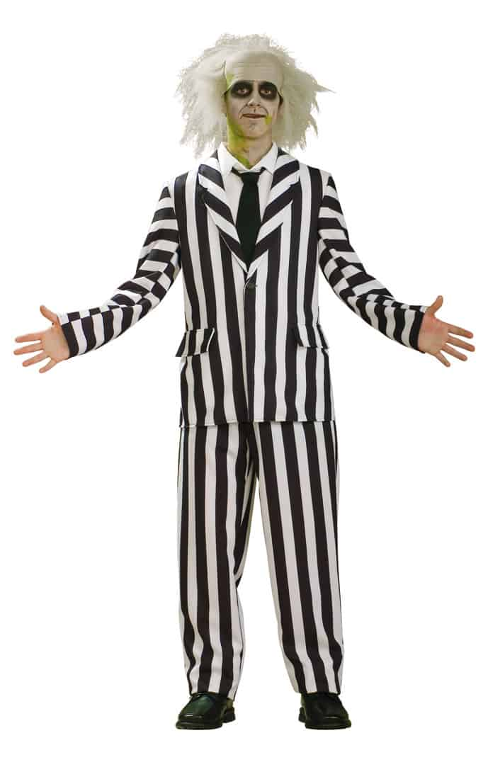 Beetlejuice Costume Retro Cosplay