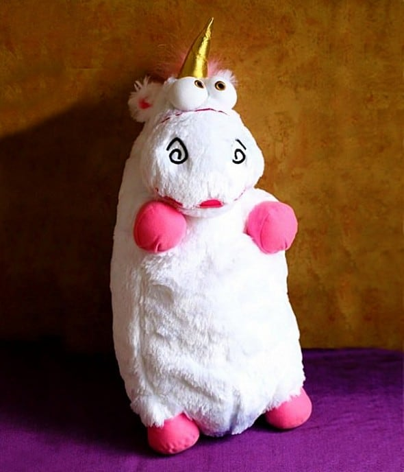 Despicable Me Fluffy Unicorn Stuff Toy Cool Gift Idea For Her