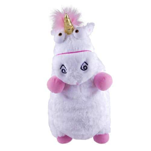 Despicable Me Fluffy Unicorn Stuff Toy Cute Novelty Item