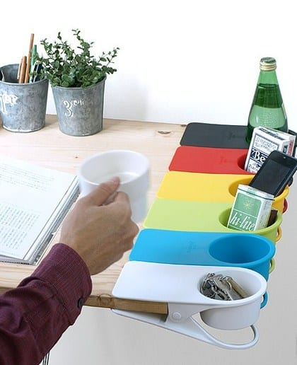 Drinklip Cup Holder Cool Way to Organize your Desktop