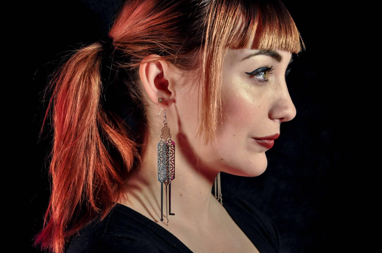 GiantEye Lock Pick Earrings Cool Fashion Accessory to Buy