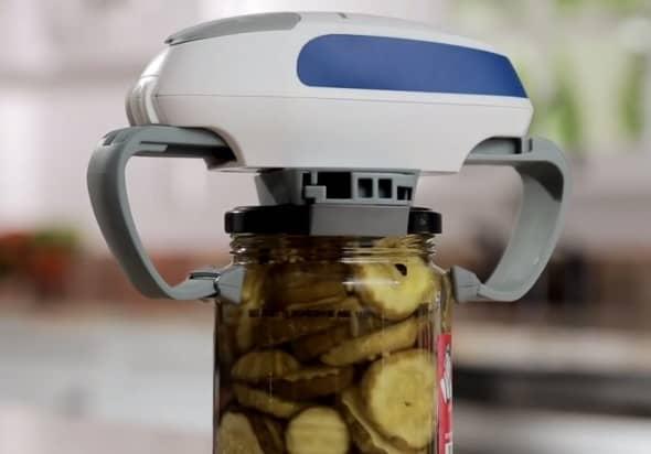 Hamilton Beach Open Ease Automatic Jar Opener  How to Open Stubborn Jar