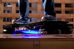 The world's first hoverboard.