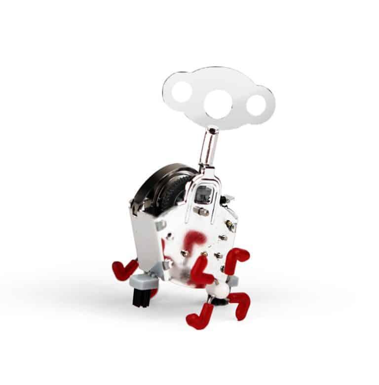 Kikkerland Ping Ling Windup Mechanical Toy