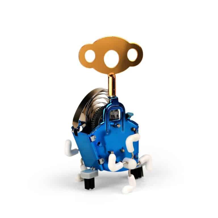 Kikkerland Ping Ling Windup Robot Toy