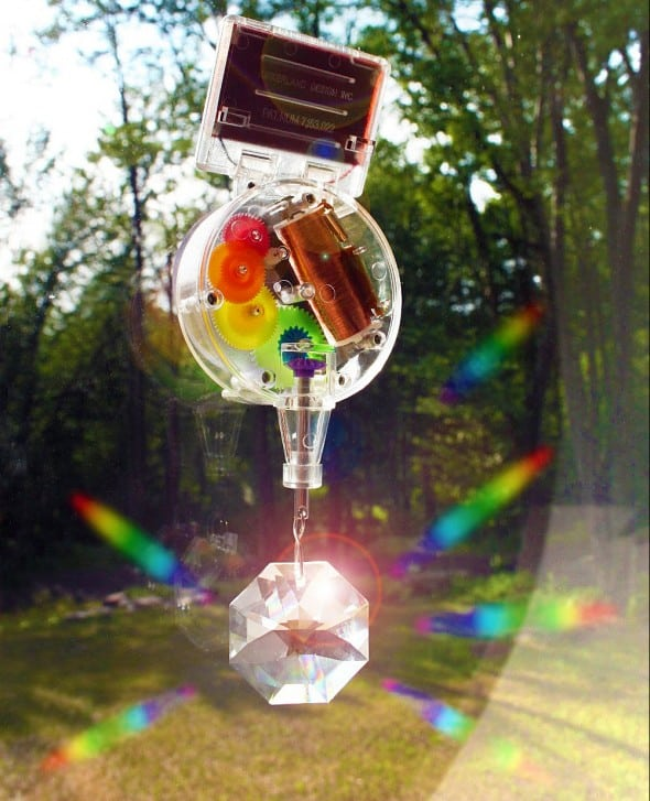 Kikkerland Solar-Powered Rainbow Maker Fancy Novelty Item