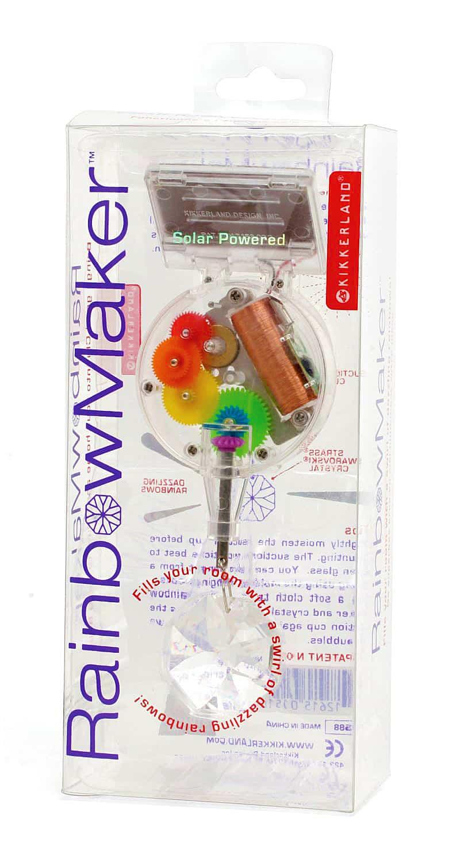 Kikkerland Solar-Powered Rainbow Maker Unique Gift Idea