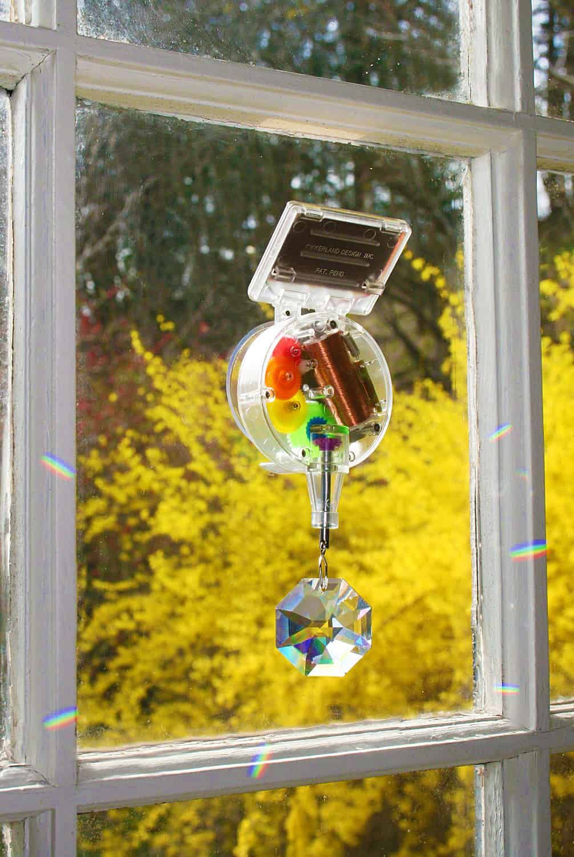 Kikkerland Solar-Powered Rainbow Maker Wierd Stuff to Buy
