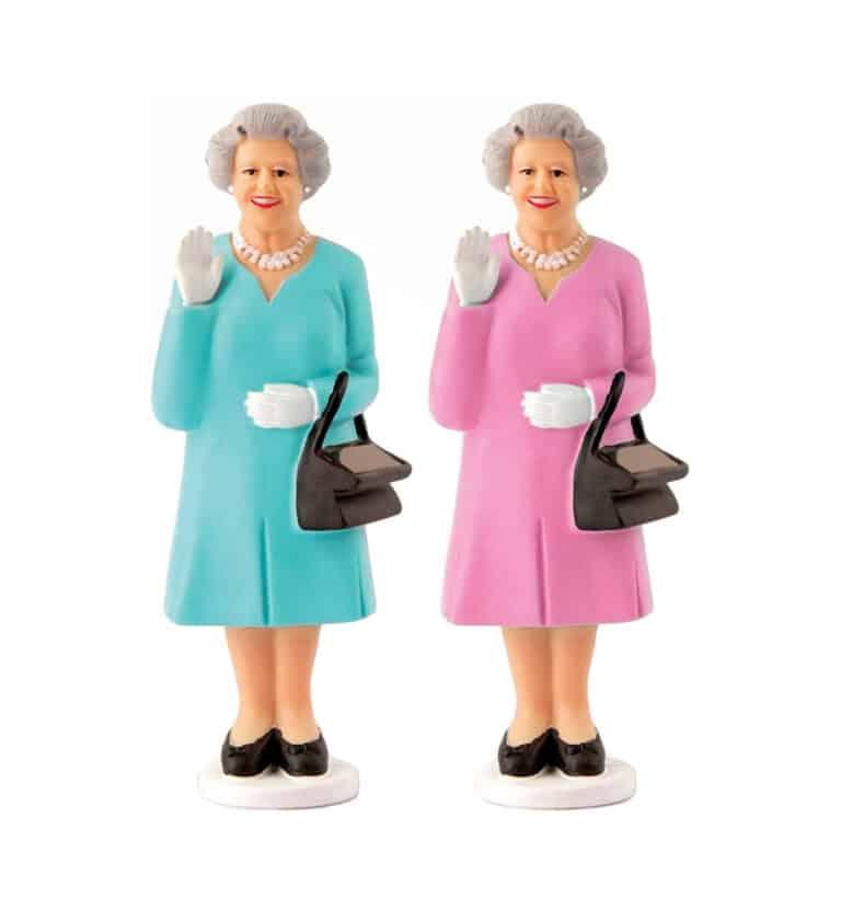 Kikkerland Solar Queen of England Hilarious Gag Gift Idea