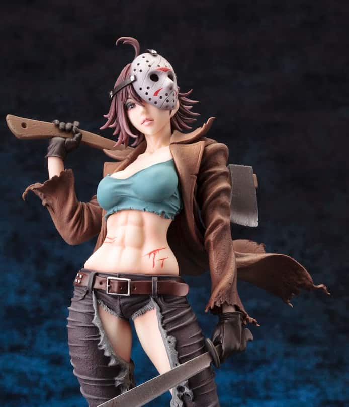 Kotobukiya Freddy vs. Jason Jason Voorhees Bishoujo Statue Cool Toy to Buy