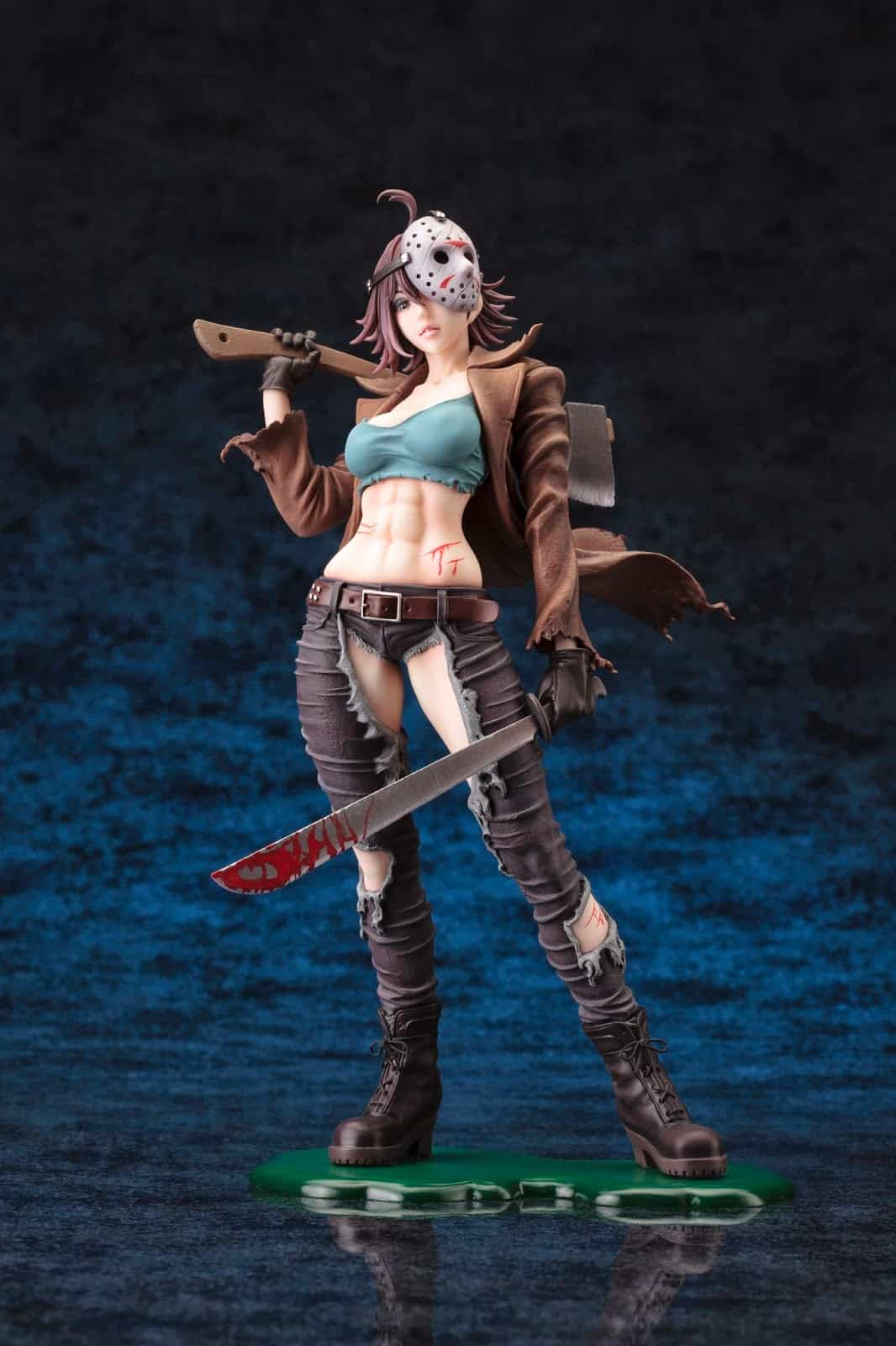 Kotobukiya Freddy vs. Jason Jason Voorhees Bishoujo Statue Sexy Gender Bender Character