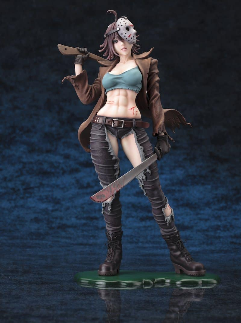 Kotobukiya Freddy vs. Jason Jason Voorhees Bishoujo Statue Sexy Version