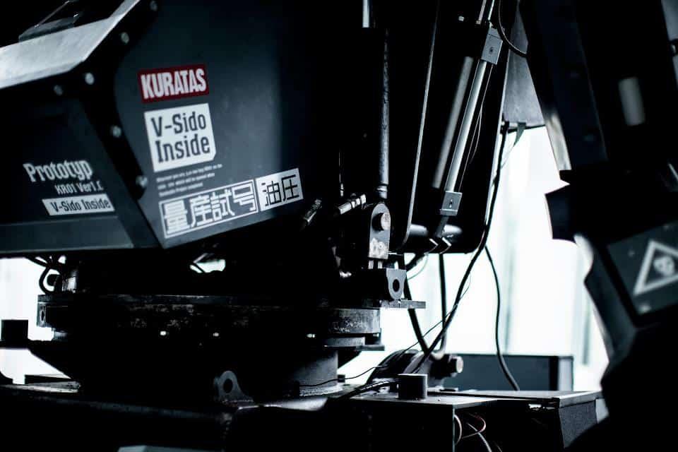 Kuratas by Suidobashi Heavy Industry Robot Torso Detail