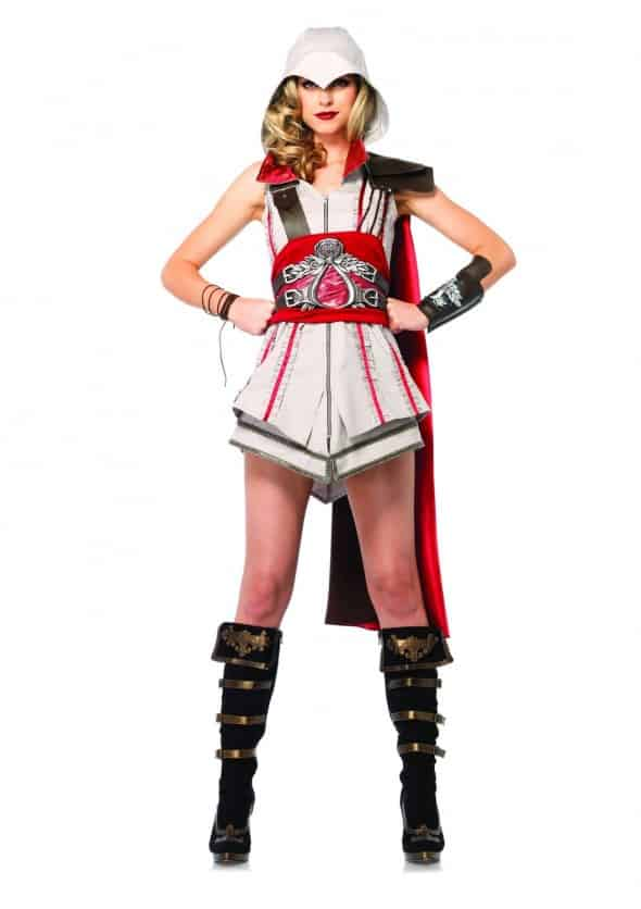 Leg Avenue Assassins Creed Ezio Girl Sexy Cosplay Gender Bender