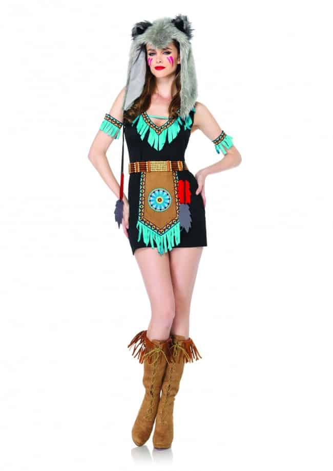 Leg Avenue Womens Wolf Warrior Costume Cute and Sexy Cosplay
