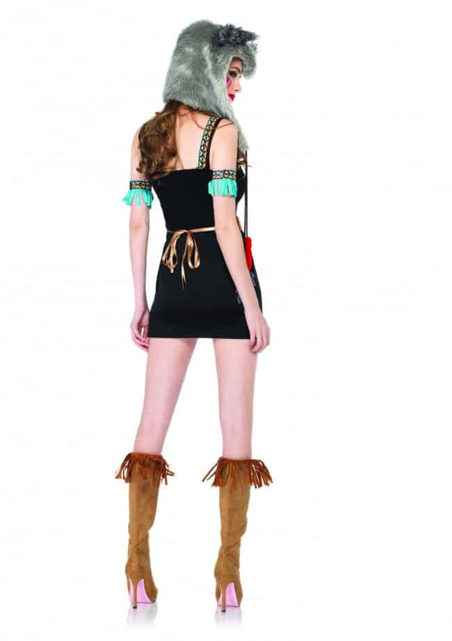 Leg Avenue Womens Wolf Warrior Costume Something Different for Cosplay