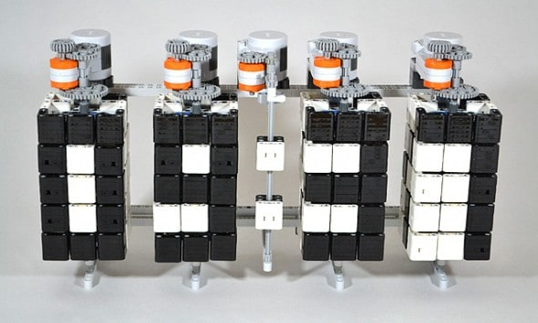 Lego Mindstorms Time Twister Mechanical Clock Cool Project To Do On The Weekends